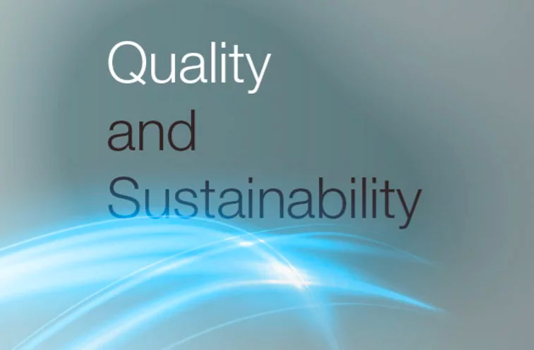 Quality & Sustainability
